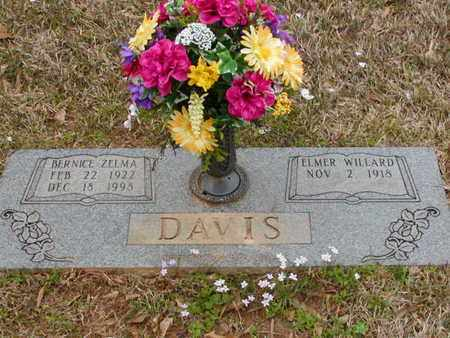 DAVIS, BERNICE ZELMA - Bowie County, Texas   BERNICE ZELMA DAVIS - Texas Gravestone Photos