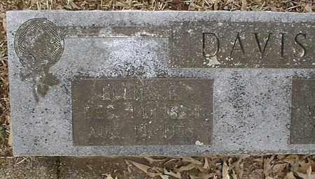 DAVIS, BUENA E - Bowie County, Texas | BUENA E DAVIS - Texas Gravestone Photos