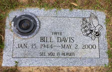 "DAVIS, BILL ""FAFFIE"" - Bowie County, Texas   BILL ""FAFFIE"" DAVIS - Texas Gravestone Photos"