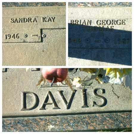 DAVIS, BRIAN GEORGE THOMAS - Bowie County, Texas | BRIAN GEORGE THOMAS DAVIS - Texas Gravestone Photos