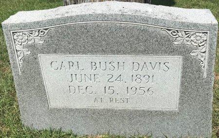 DAVIS, CARL BUSH - Bowie County, Texas | CARL BUSH DAVIS - Texas Gravestone Photos
