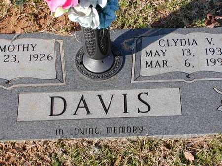 DAVIS, CLYDIA V - Bowie County, Texas | CLYDIA V DAVIS - Texas Gravestone Photos