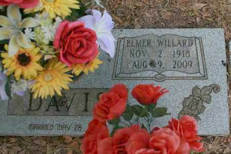 DAVIS, ELMER WILLARD - Bowie County, Texas   ELMER WILLARD DAVIS - Texas Gravestone Photos