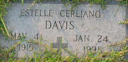 DAVIS, ESTELLE - Bowie County, Texas | ESTELLE DAVIS - Texas Gravestone Photos