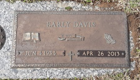 DAVIS, EARLY - Bowie County, Texas | EARLY DAVIS - Texas Gravestone Photos