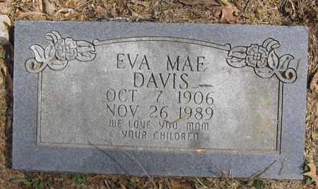 DAVIS, EVA MAE - Bowie County, Texas | EVA MAE DAVIS - Texas Gravestone Photos