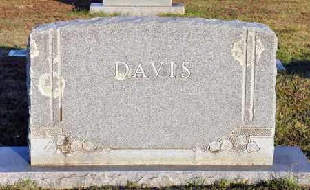 DAVIS, FAMILY MARKER - Bowie County, Texas | FAMILY MARKER DAVIS - Texas Gravestone Photos