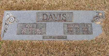 DAVIS, GALE F - Bowie County, Texas | GALE F DAVIS - Texas Gravestone Photos
