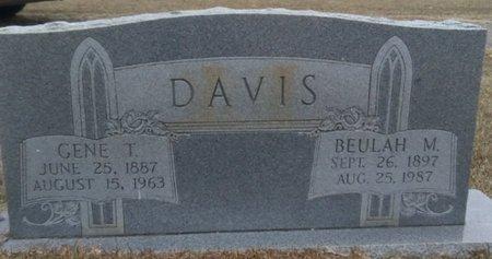SKELTON DAVIS, BEULAH M - Bowie County, Texas | BEULAH M SKELTON DAVIS - Texas Gravestone Photos