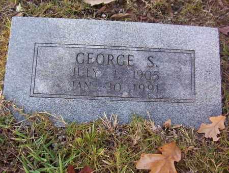 DAVIS, GEORGE S - Bowie County, Texas | GEORGE S DAVIS - Texas Gravestone Photos