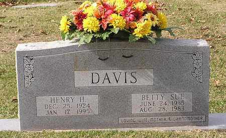 DAVIS, BETTY SUE - Bowie County, Texas | BETTY SUE DAVIS - Texas Gravestone Photos
