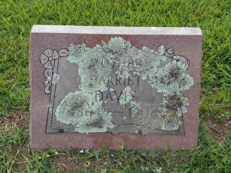 DAVIS, HARRIET - Bowie County, Texas | HARRIET DAVIS - Texas Gravestone Photos