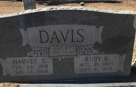 DAVIS, RUBY K. - Bowie County, Texas | RUBY K. DAVIS - Texas Gravestone Photos