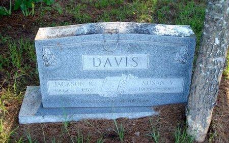 DAVIS, JACKSON K - Bowie County, Texas | JACKSON K DAVIS - Texas Gravestone Photos