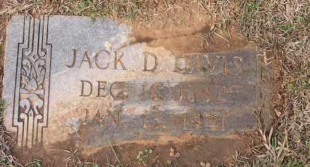 DAVIS, JACK D - Bowie County, Texas | JACK D DAVIS - Texas Gravestone Photos