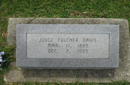 DAVIS, JUDGE FULCHER - Bowie County, Texas | JUDGE FULCHER DAVIS - Texas Gravestone Photos