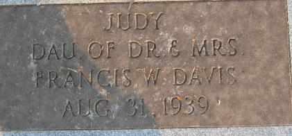 DAVIS, JUDY - Bowie County, Texas   JUDY DAVIS - Texas Gravestone Photos
