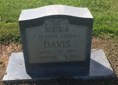 DAVIS, JOSEPH GREEN - Bowie County, Texas | JOSEPH GREEN DAVIS - Texas Gravestone Photos