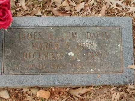 "DAVIS, JAMES M ""JIM"" - Bowie County, Texas | JAMES M ""JIM"" DAVIS - Texas Gravestone Photos"