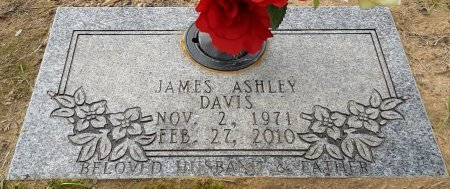 DAVIS, JAMES ASHLEY - Bowie County, Texas | JAMES ASHLEY DAVIS - Texas Gravestone Photos
