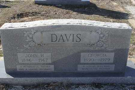 DAVIS, GEORGIA - Bowie County, Texas | GEORGIA DAVIS - Texas Gravestone Photos