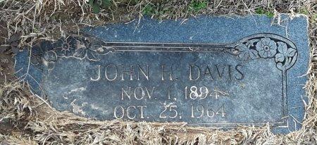 DAVIS, JOHN H - Bowie County, Texas | JOHN H DAVIS - Texas Gravestone Photos