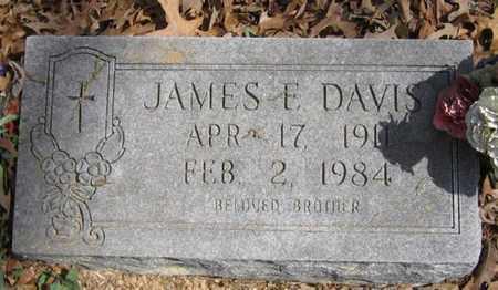 DAVIS, JAMES E - Bowie County, Texas | JAMES E DAVIS - Texas Gravestone Photos