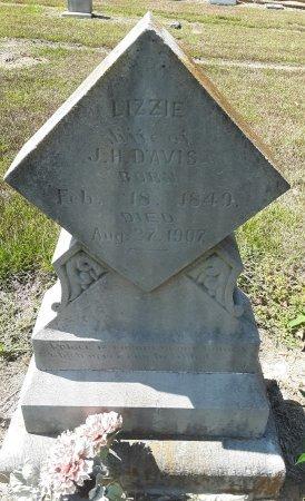 DAVIS, LIZZIE - Bowie County, Texas   LIZZIE DAVIS - Texas Gravestone Photos