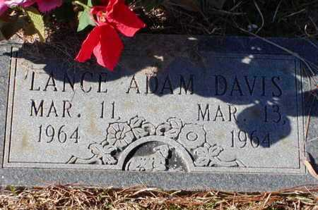 DAVIS, LANCE ADAM - Bowie County, Texas | LANCE ADAM DAVIS - Texas Gravestone Photos
