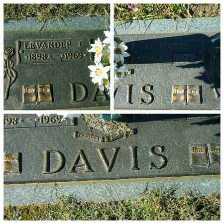 DAVIS, LEVANDER C - Bowie County, Texas | LEVANDER C DAVIS - Texas Gravestone Photos