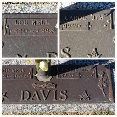 "DAVIS, CAROL ""JIM"" - Bowie County, Texas | CAROL ""JIM"" DAVIS - Texas Gravestone Photos"
