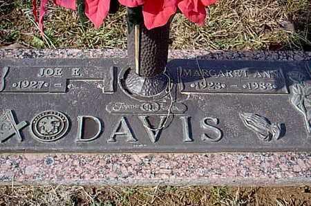 DAVIS, MARGARET ANN - Bowie County, Texas   MARGARET ANN DAVIS - Texas Gravestone Photos