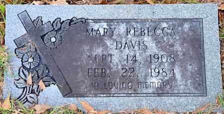 DAVIS, MARY REBECCA - Bowie County, Texas | MARY REBECCA DAVIS - Texas Gravestone Photos