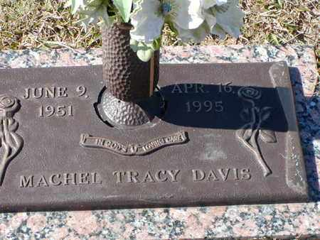 DAVIS, MACHEL TRACY - Bowie County, Texas   MACHEL TRACY DAVIS - Texas Gravestone Photos