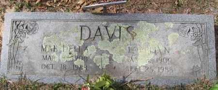 DAVIS, LOVELL N - Bowie County, Texas | LOVELL N DAVIS - Texas Gravestone Photos