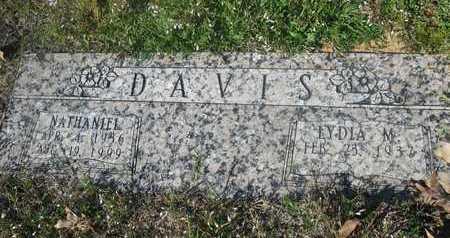 HILL DAVIS, LYDIA M - Bowie County, Texas | LYDIA M HILL DAVIS - Texas Gravestone Photos