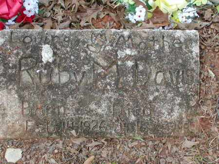 DAVIS, RUBY M - Bowie County, Texas | RUBY M DAVIS - Texas Gravestone Photos