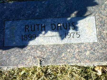 DAVIS, RUTH - Bowie County, Texas | RUTH DAVIS - Texas Gravestone Photos