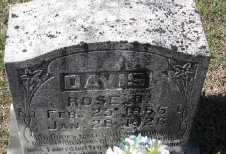 DAVIS, ROSE B - Bowie County, Texas | ROSE B DAVIS - Texas Gravestone Photos