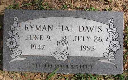 DAVIS, RYMAN HAL - Bowie County, Texas | RYMAN HAL DAVIS - Texas Gravestone Photos