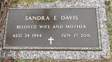 DAVIS, SANDRA E - Bowie County, Texas | SANDRA E DAVIS - Texas Gravestone Photos