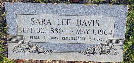 DAVIS, SARA LEE - Bowie County, Texas | SARA LEE DAVIS - Texas Gravestone Photos
