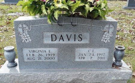 DAVIS, VIRGINIA E - Bowie County, Texas | VIRGINIA E DAVIS - Texas Gravestone Photos