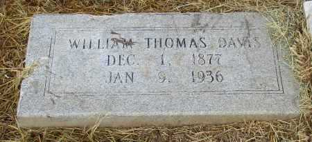 DAVIS, WILLIAM THOMAS - Bowie County, Texas | WILLIAM THOMAS DAVIS - Texas Gravestone Photos