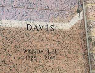 DAVIS, WANDA LEE - Bowie County, Texas | WANDA LEE DAVIS - Texas Gravestone Photos