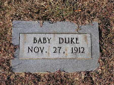 DUKE, BABY - Bowie County, Texas | BABY DUKE - Texas Gravestone Photos