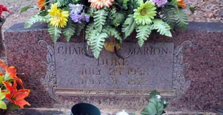 DUKE, CHARLES MARION - Bowie County, Texas | CHARLES MARION DUKE - Texas Gravestone Photos