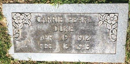 DUKE, CARRIE PEARL - Bowie County, Texas   CARRIE PEARL DUKE - Texas Gravestone Photos
