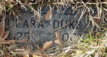 DUKE, CLARA - Bowie County, Texas   CLARA DUKE - Texas Gravestone Photos