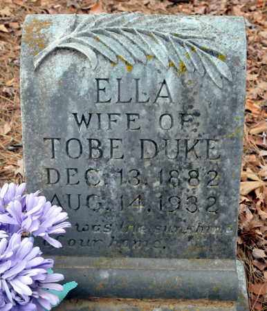 DUKE, ELLA - Bowie County, Texas | ELLA DUKE - Texas Gravestone Photos